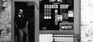 Mike, the Barber, Shapes Lives as He Cuts Hair